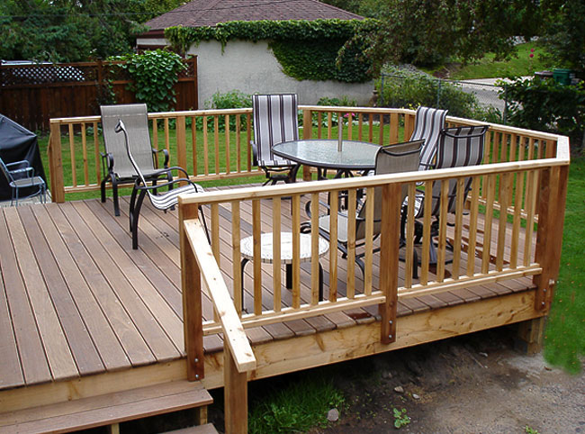 deck designs st paul deck building contractor