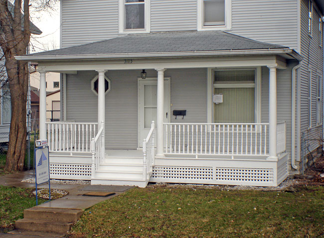 Porch designs in st paul porches from home customizers for House porch design
